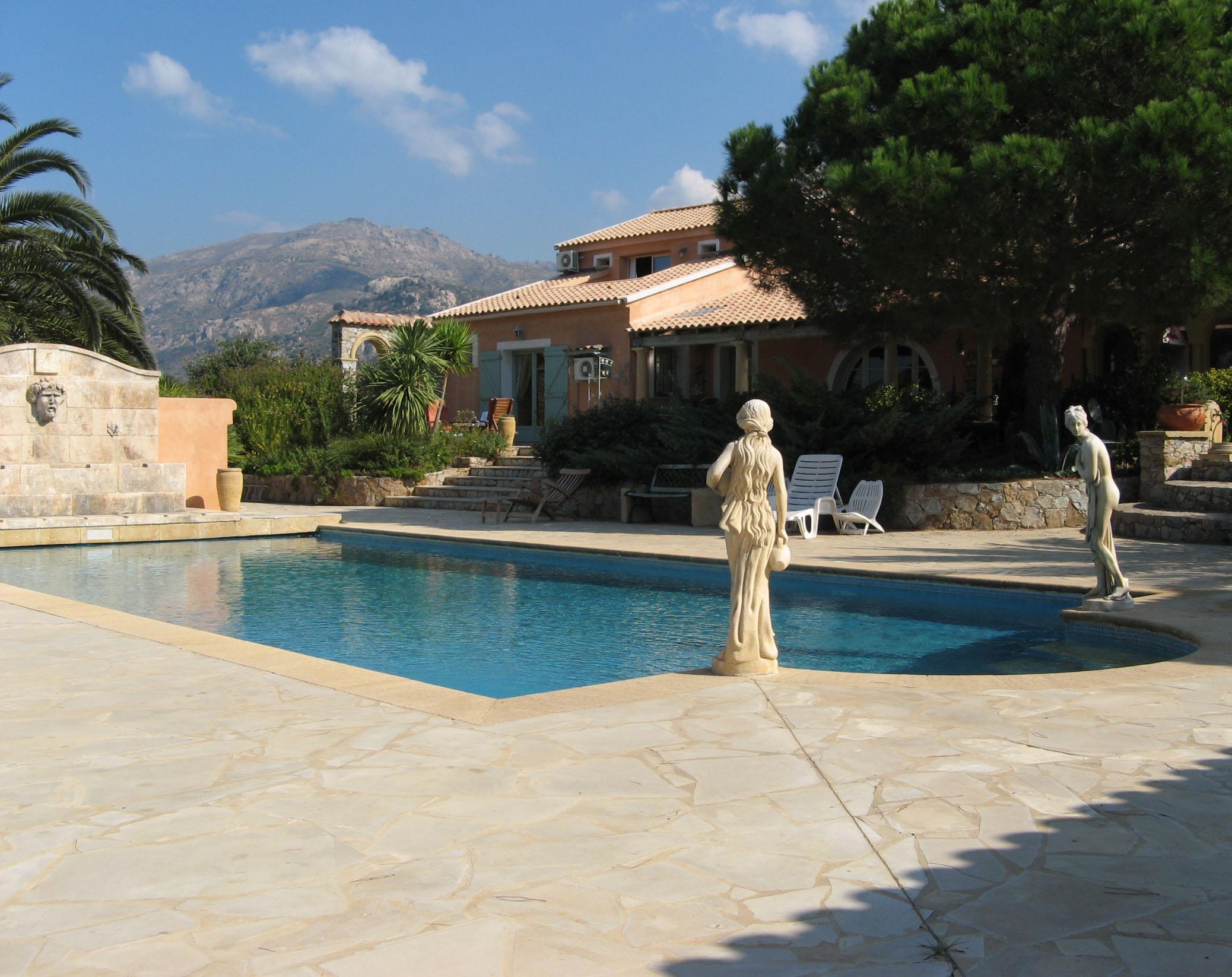 Villa Opvntia Gite et Chambres d H´tes Calvi Accueil