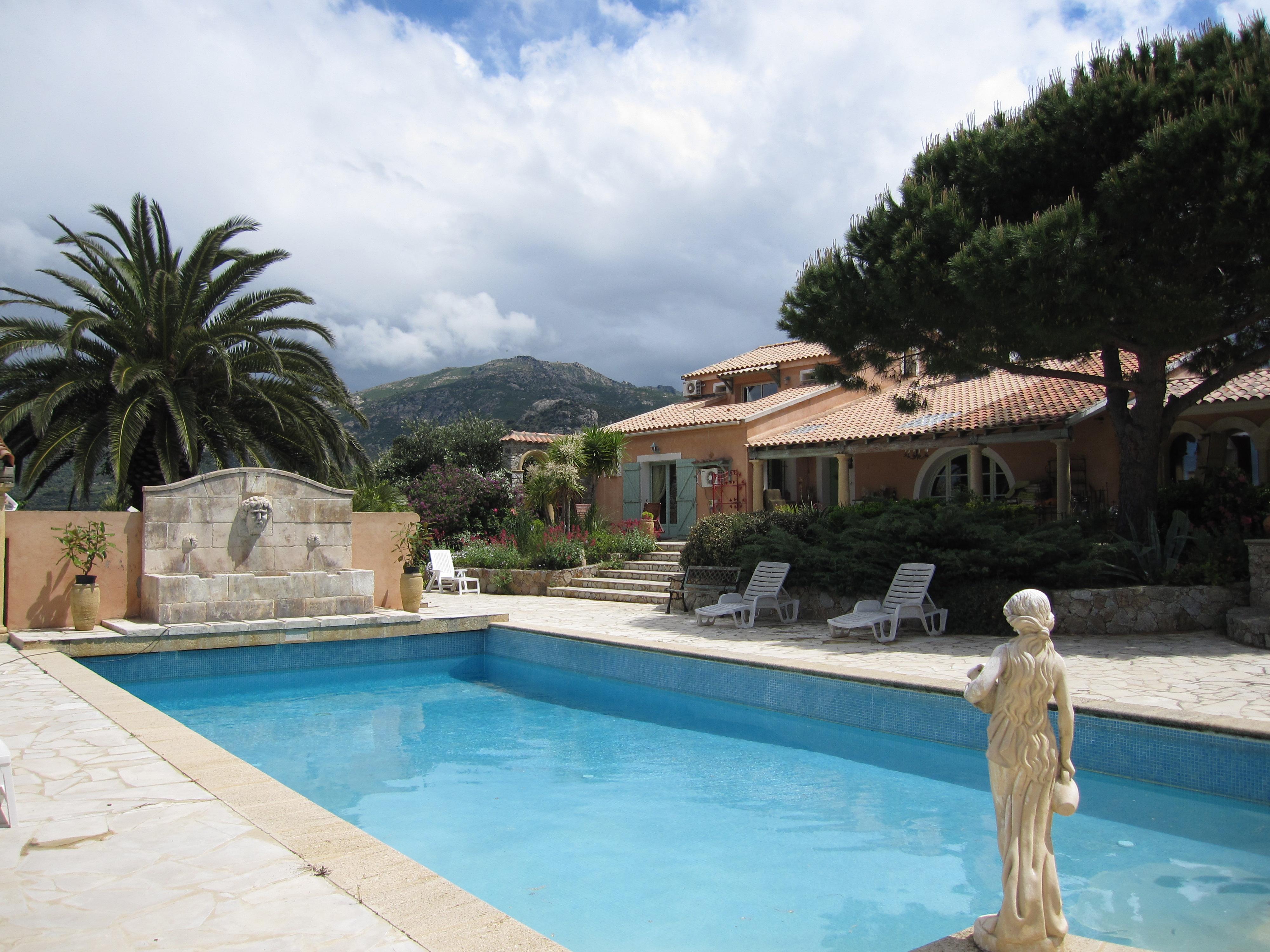 Villa Opvntia Gite et Chambres d H´tes Calvi Table d H´te